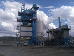 Б/У асфальтный завод Benninghoven ECO- 320 т/ч, 2011 г