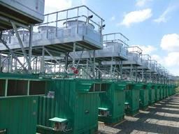 Б/У дизельная Электростанция Hyundai Himsen 9H21 / 32 мощностью 57,8 МВт