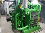 Б/У газовый двигатель Jenbacher J 620 GSE01,2800 Квт,2001 г. - фото 1
