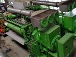 Б/У газовый двигатель Jenbacher J320 GS B05,1000 Квт,1996 г. - фото 8