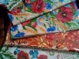 Скатерти, полотенца в украинском стиле, лён- рогожка - фото 3